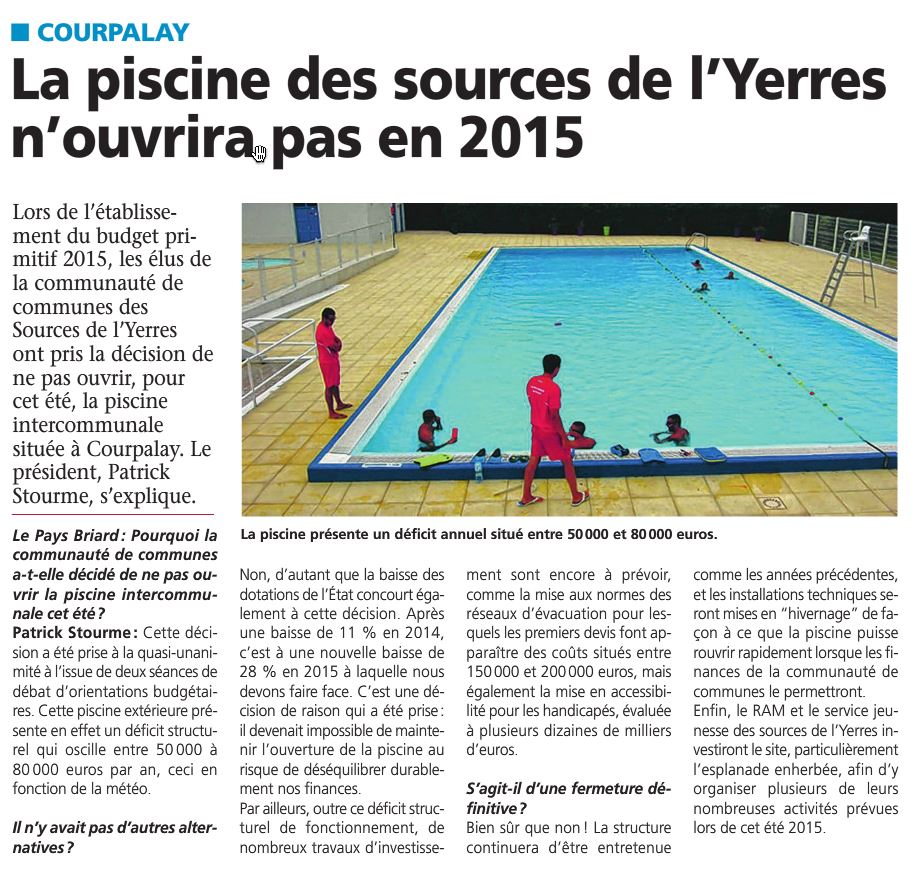 Piscine les sources de l 39 yerres for Piscine yerres